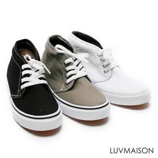 Picture of LUVMAISON Lace-Up Sneakers 1023045118 (Sneakers, LUVMAISON Shoes, Korea Shoes, Mens Shoes, Mens Sneakers)