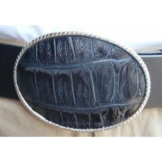 Picture of ESCOBARIA Crocodile Belt 1004872741 (ESCOBARIA, Mens Belts, Japan)