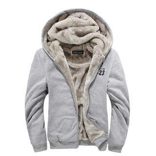 Fleece Lined Zip Hoodie 1053850439