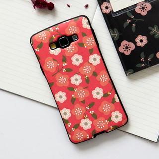 Floral Print Samsung Galaxy A7 Case 1044645952