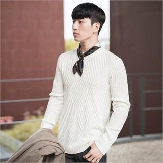 Ribbed Knit Sweater 1054849925