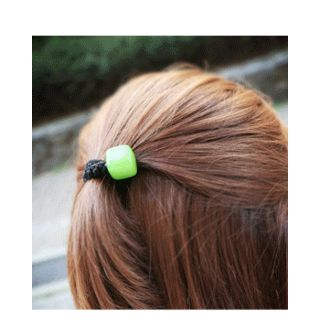 Colored Square Hair Tie 1044630196