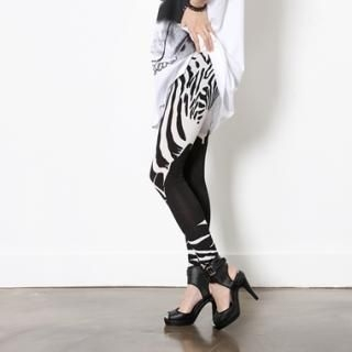Buy HARU Zebra Print Leggings 1022591918