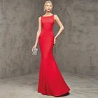 Sleeveless Mermaid Evening Gown 1596