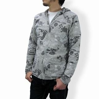 Buy TOKYO LOCAL BAZAAR Patterned Hoodie – Classic Japanese Motif 1014451922