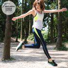 Colorblock Paneled Active Leggings 1596