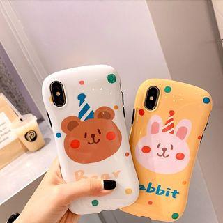 Image of Animal Print Phone Case - iPhone 6 / 6 Plus / 6s / 6s Plus / 7 / 7 Plus / 8 / 8 Plus / X / XS / XS Max / XR