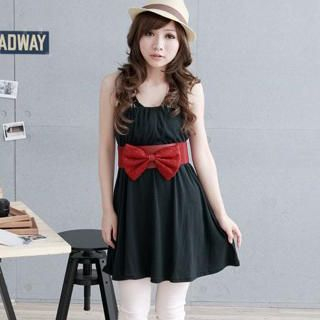 Buy ZOO Drawstring Tube Dress 1022977596