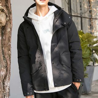 Image of Hooded Down Jacket
