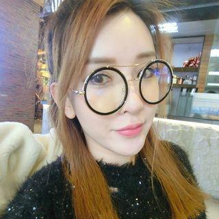 Double-Bridge Round Glasses 1065235159