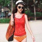 Set: Lace Bikini + Hoodie + Ruffled Shorts 1596