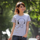Cartoon Print T-Shirt 1596