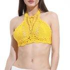 Crochet Halter Bikini Top 1596