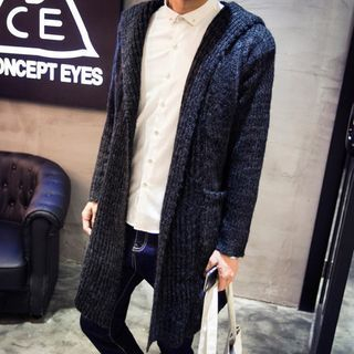 Ribbed Long Cardigan 1047769427