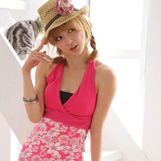 Picture of 2kilo Floral Print Halter Top 1022776571 (2kilo Dresses, Womens Dresses, Taiwan Dresses)