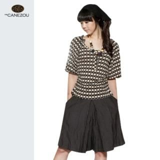 Picture of canezou Wide-Leg Skort 1023066166 (Womens Wide-Leg Pants, canezou Pants, South Korea Pants)