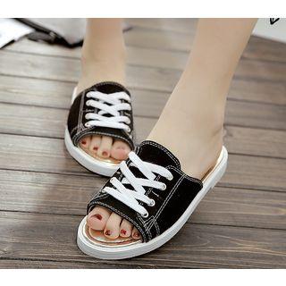 Image of Denim Slide Sandals