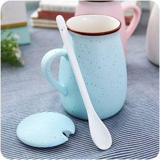 Mug with Lid & Spoon 1050005779