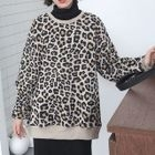 Leopard Printed Pullover 1596