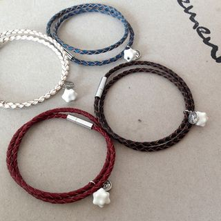 Couple Genuine Leather Bracelet