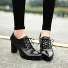 Oxford Pumps Brown - 34 от YesStyle.com INT