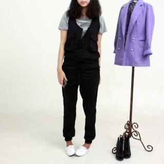 Buy S the Girl Sleeveless Jumpsuit 1022577638