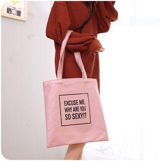 Printed Tote Bag 1065041242
