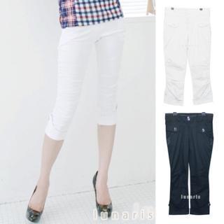 Picture of Lunaris Cropped Pants 1022846363 (Lunaris Apparel, Womens Pants, South Korea Apparel)
