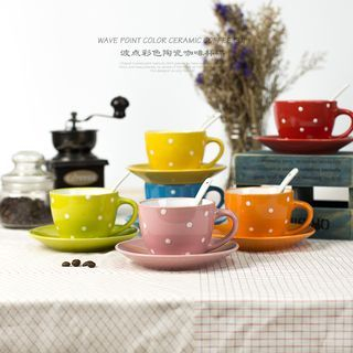 Dotted Coffee Cup Set 1050938993