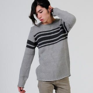 Picture of deepstyle Striped Knit Sweater 1021706249 (deepstyle, Mens Knits, Korea)