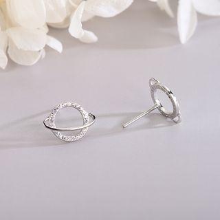 Rhinestone | Sterling | Earring | Silver