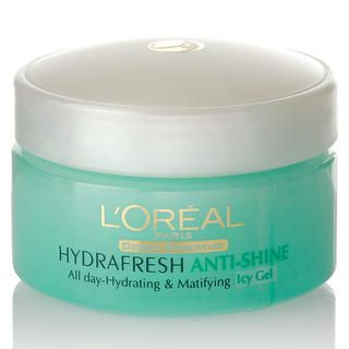 Buy L'Oreal – Hydrafresh Anti-shine All day-Hydrating & Matifying (Icy Gel) 50ml