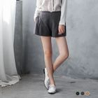 Pleated Loose Shorts 1596