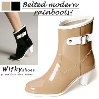 Picture of Wifky Rain Boots 1022811321 (Boots, Wifky Shoes, Korea Shoes, Womens Shoes, Womens Boots)