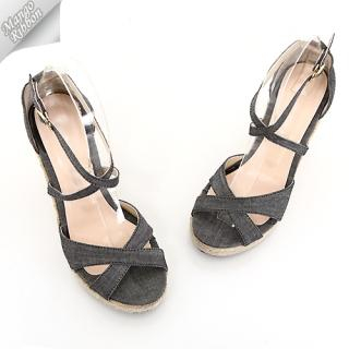 Buy Mango Ribbon Ankle-Strap Sandals 1022945572
