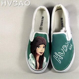 Buy HVBAO  Chic Girl  Slip-Ons 1020469065