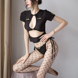 Image of Army Lingerie Costume Set