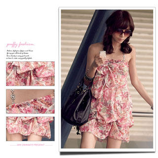 Buy PUFFY Floral Print Dress / Skirt 1022849936