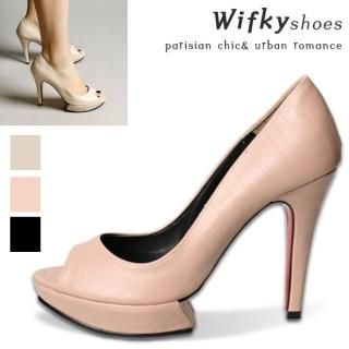 Buy Wifky Platform Open Toe Pumps 1022284147