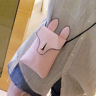 Ear-Accent Crossbody Bag