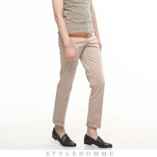 Buy STYLEHOMME Ankle Length Pants with Belt 1022706101