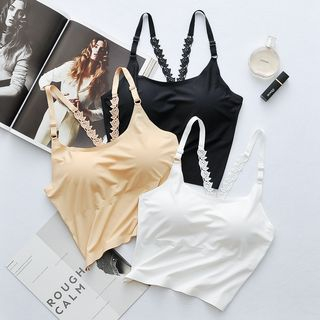 Image of Lace Strap Padded Camisole