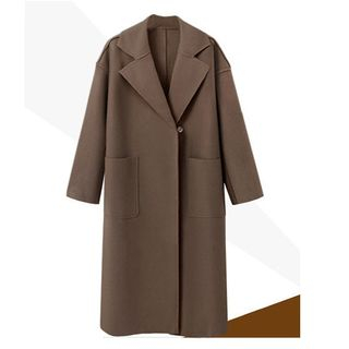 Notched Lapel Coat 1063030363