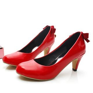 Picture of KAWO Bow & Heart Pumps 1022772598 (Pump Shoes, KAWO Shoes, China Shoes, Womens Shoes, Womens Pump Shoes)