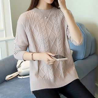 Ribbed Knit Top 1061405214
