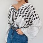Hooded Striped Top 1596