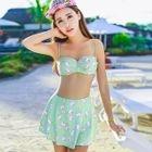 Set: Print Bikini + Cover + Skirt 1596