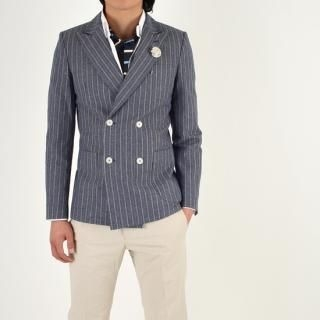 Buy IRONB Double Breasted Blazer 1022954047