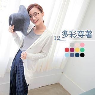 V-neck Buttoned Knit Cardigan 1052804014