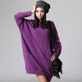 Buy FOXCiTY Long-Sleeve Knit Dress 1021453350